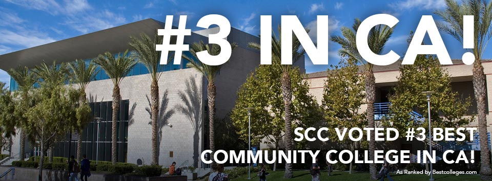 SCC Ranked #3 in California