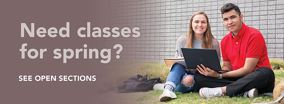 Need Spring classes? View open sections