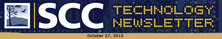 SCC Tecnology Newsletter Logo