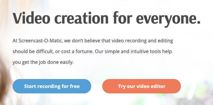 Screencast-O-Matic: Review and Featues