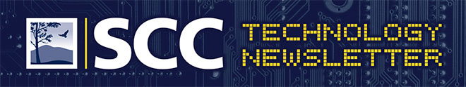 SCC Technology Newsletter Logo