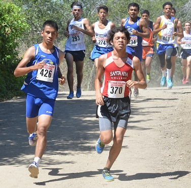 SCC Hawks competing at Palomar Invitational