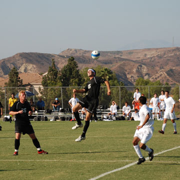 Santiago Canyon Men's Soccer 2008