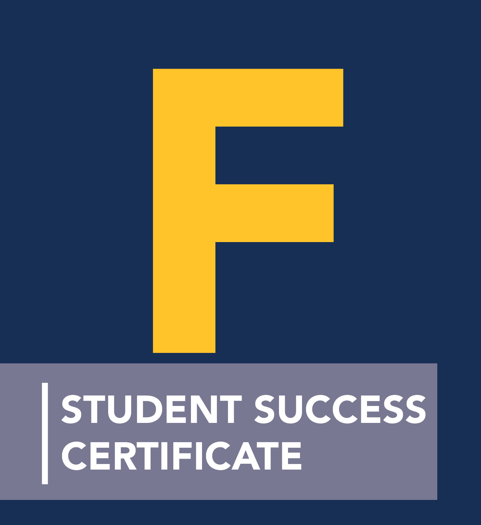 FYSC Student Success Certificate