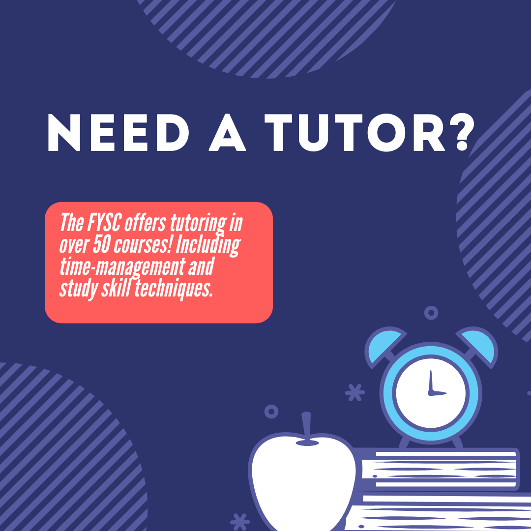 NEED A TUTOR banner