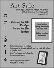 SCC Art Sale
