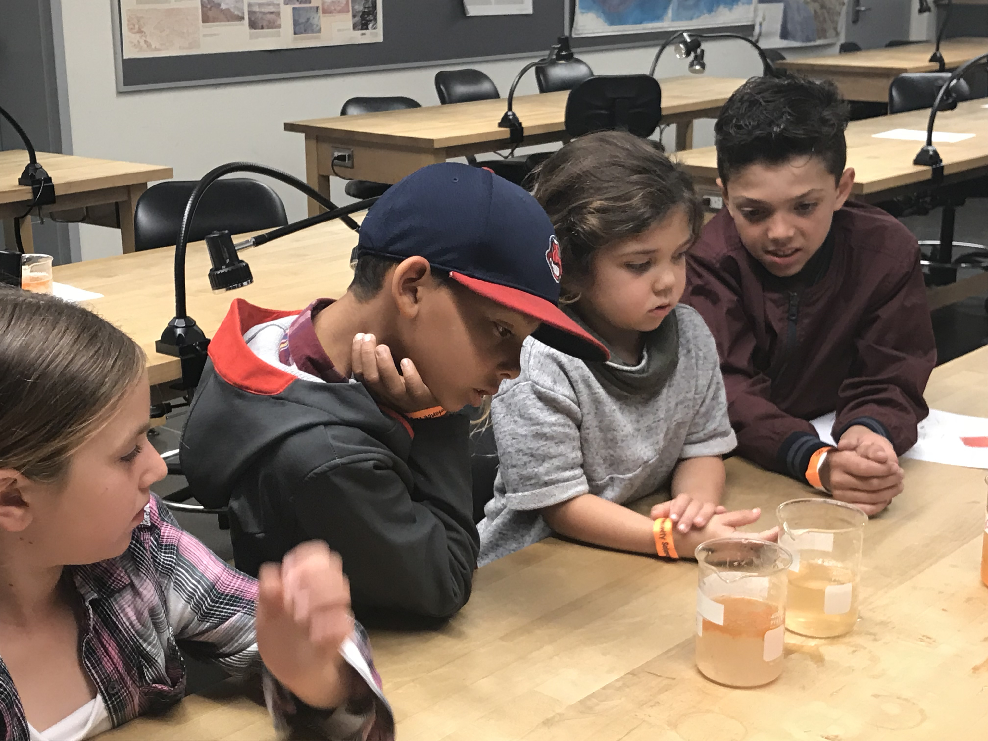 Children at Science Night