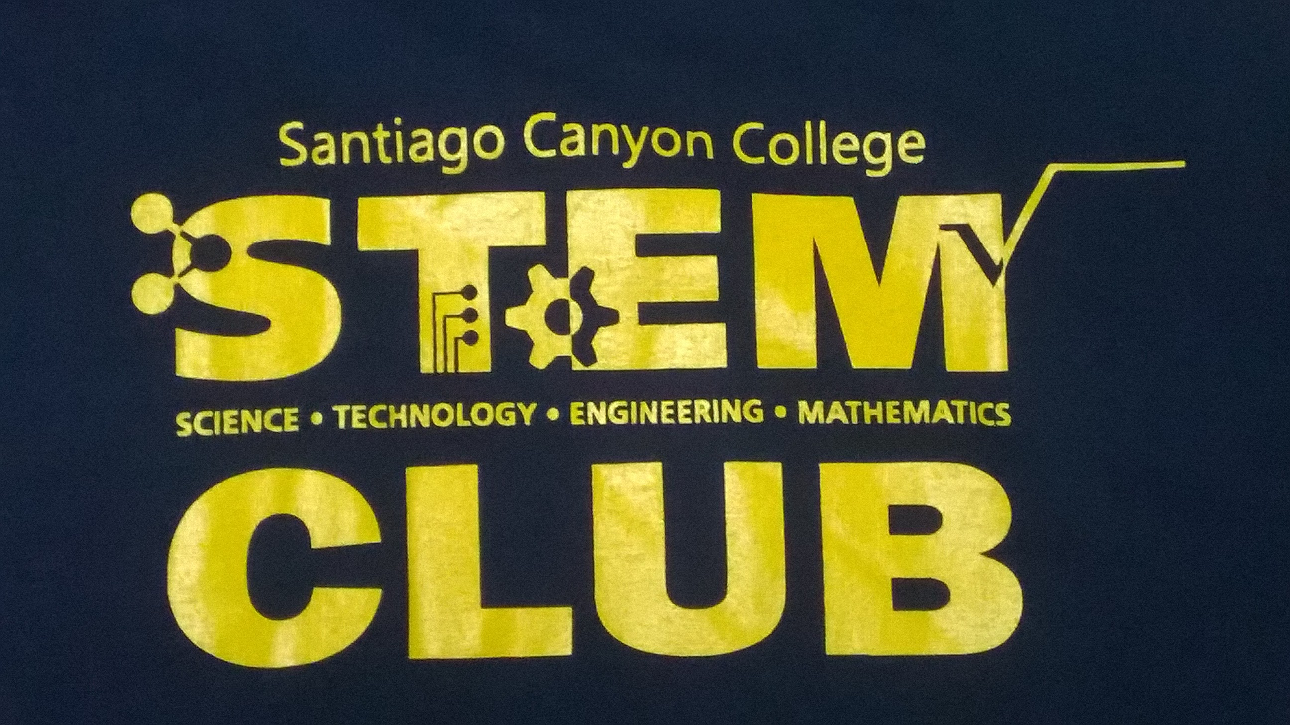 STEM Club T Shirt Logo