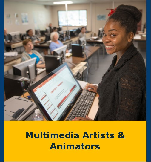 Multimedia Artists & Animators Flyer