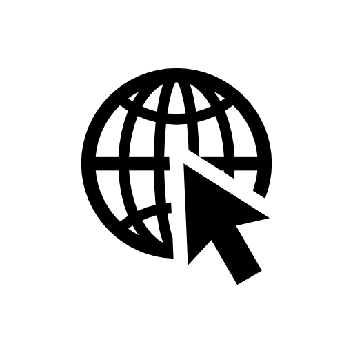 mouse-click-on--earth-icon