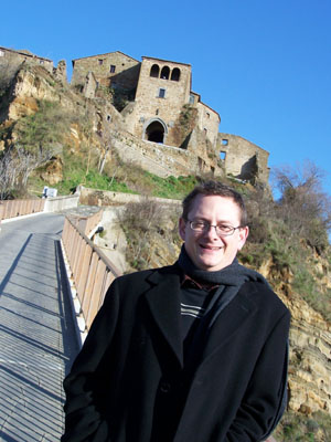 Prof. James Granitto in Italy
