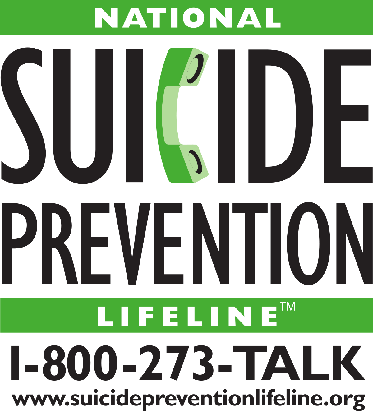 Image of National Sucide Prevention Hotline Logo