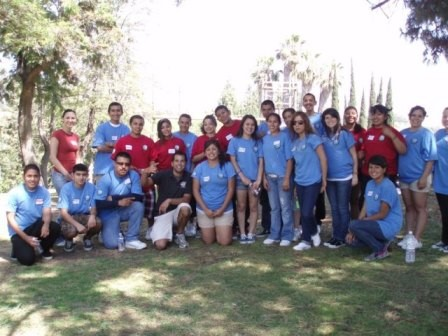 Third year College Assistance Migrant Program (CAMP) students during the Summer Learning Academy, July 2009