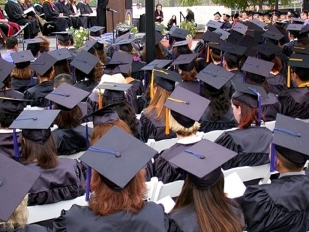 A total of 728 students who completed degree requirements between August 2007 and August 2008 were eligible to participate in the graduation ceremony held on June 6, 2008.