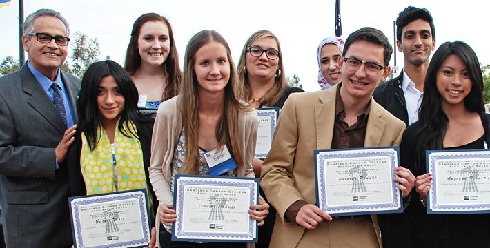 SCC Scholarship recipients